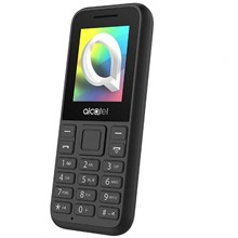 Alcatel 1066D Dual Sım Black