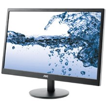"Aoc 21.5""inc e2270swn led 5ms siyah d-sub"