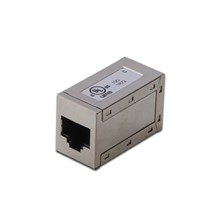 AT-AG 8/8 C6S CAT 6 Modüler Adaptör (Coupler), Zırhlı, RJ45  lt;- gt; RJ45