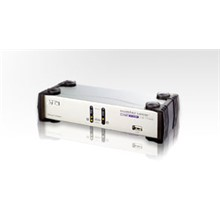 Aten-Cs1742C 2 Port Usb Dual View Kvmp™ Switch (2 Port Usb Dual Kvm Support One Pc With Two Display)