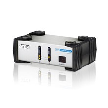 ATEN-VS261 2-Port DVI/Hoparlör Seçici<br>