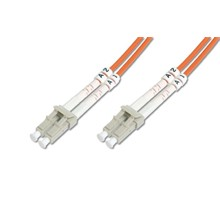 BC-2633-02 Fiber Patch cord , 3.0mm Duplex , MM OM1 62.5u, LC-LC/PC 2M