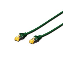BC-S6A030G Beek CAT 6A SFTP/PIMF (Pairs in metal foil) Patch Kablosu, LSOH, 3 metre, AWG 26, Yeşil Renk