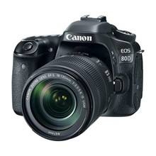 Canon Eos 80D (W) 18-135 Is Usm Kit