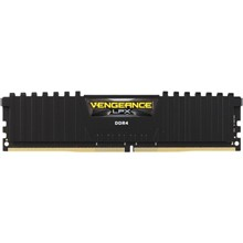 Corsair Vengeance Siyah Ddr4-3000Mhz Cl16 8Gb (1X8Gb) Sıngle (16-20-20-38)