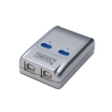 DA-70135-1 Digitus USB Sharing Switch, USB 2.0, 2 PC, 1 USB Cihaz