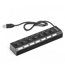 Dark Connect Master U72, 7 Port Anahtarlı Usb Hub