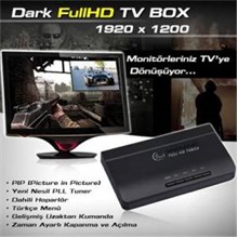 Dark Full Hd Tv Box 1920X1200 Harici Tv Kutusu  Ac-Tvbox1920