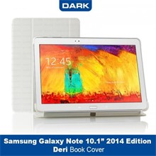"Dark Samsung Galaxy Note 2014 10.1"" Smart Tablet Kılıfı - Beyaz"