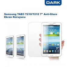 "Dark Samsung Galaxy TAB3 7"" T210/T212 Anti-Glare Ekran Koruyucu Film"