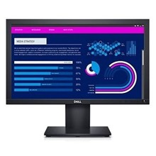 "Dell E1920H 18.5"" 5Ms Hd Vga Dp Siyah Vesa Led"