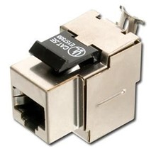 DN-93511 Digitus CAT-5e Keystone Jack, Zırhlı (Shielded), RJ45, Gri Renk, LSA