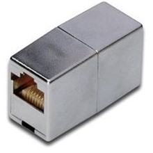 DN-93901 Digitus CAT.5E Adaptör (Coupler), Zırhlı/Shielded, RJ45 Dişi <-> RJ45 Dişi