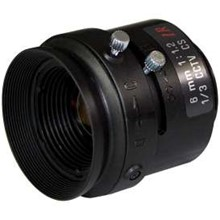 Eneo-F0612M-Nfs Eneo Fixed Focal Length Lens 1/3Quot; Manual 6Mm F1.2-C 46.5 Degrees Cs 4.2Mm 34.7 Mm X 37 Mm
