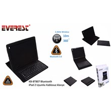 Everest Kb-Bt807 Bluetooth İpad 2 Uyumlu Q Multimedia Kablosuz Klavye