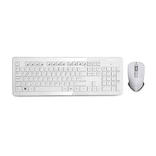 Everest Km-66 Beyaz Kablosuz Q Multimedia Klavye + Mouse Set