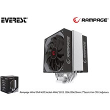 Everest Rampage Chıll-420 Socket Am4-2011(100.F Everest Chıll-420)