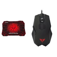 Everest Rampage Sgm-X77 Usb Gaming Mouse-Mouse Pad