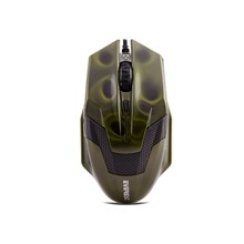 Everest Sm-612 Usb Metalik Yeşil Oyun Mouse