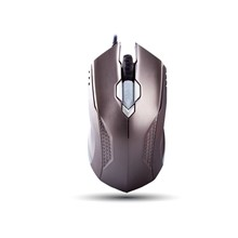 Everest Smx-308N Usb Metal/Gri 6D Optik Oyun Mouse