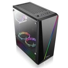 Gamebooster Gb-L05B Usb3.0 Siyah Rainbow Rgb Fan Strip Kasa (Psu Yok)