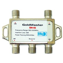 Goldmaster Rm-06 4Lü Diseqc Switch