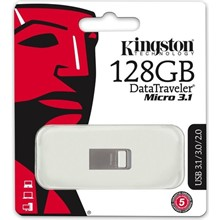 Kıngston 128Gb Dtmicro Usb3.1 Dtmc3/128