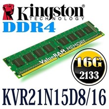 Kıngston 16Gb Ddr4-2133Mhz, Bellek - Kvr21N15D8/16