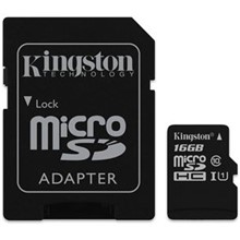 Kingston 16Gb Microsd Cl10 Sdcs/16Gb