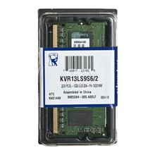 Kingston 2Gb D3 Sodımm 1333 1.35 Kutusuz Ram KVR13LS9S6/2