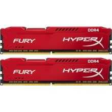 Kingston 2x8G 16GB HYPERX FURY DDR4 2400Mhz HX424C15FR2K2/16