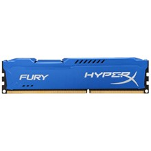 Kingston 8GB 1600MHZ HX316C10F/8 DDR3 CL10 DIMM HYPERX FURY BLUE SERISI