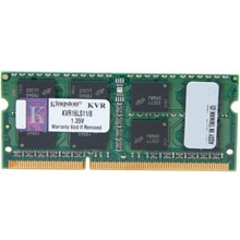 Kingston 8GB DDR3 SoDIMM 1600  1.35V KVR16LS11/8
