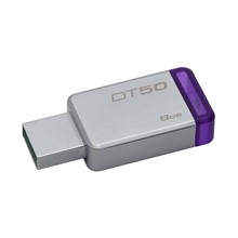 Kingston 8Gb Usb 3.1 Bellek Dt50/8Gb Metal Mor