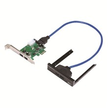 LogiLink PC0058 Ön Panel 2 x USB3.0   2 x USB3.0 PCI Express Kart