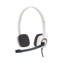 Logitech H150 Kablolu Cloud White Headset 981-000350