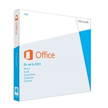 Microsoft Office 2013 T5D-01599 English Kutu Home and Business  Ofis Yazılımı