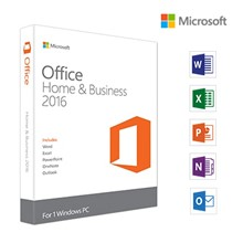 Microsoft Office Mac Ev ve İş 2016, English, Kutu - W6F-00576