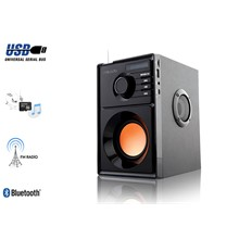 Mıkado Md-10B 5W+2.5W 2Usb + Mcsd+Fm Desteklı Bluetooth Speake