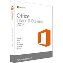 MS Office 2016 Home and Business Kutu TR