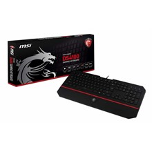 MSI INTERCEPTOR DS4100 GAMING KLAVYE (TÜRKÇE)