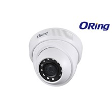 Oring OR-HAC-HDW1200R 2MP 3.6MM CMOS 1080P IR Led Dome Kamera AHD Plastik Kasa Dome Kamera