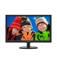 "Philips 223V5LHSB2 21.5"" Full HD LED Monitör"