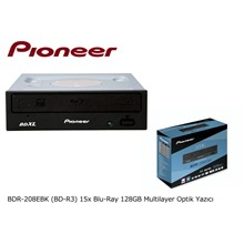 Pioneer Bdr-208Ebk (Bd-R3) 15X Blu-Ray 128Gb Multilayer Optik Yazıcı