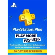 PlayStation Plus Card Hang 90 Days/TUR