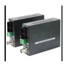 PL-VF-102S15-KIT 1-Channel BNC Video over Fiber Bundle Kit (VF-102S15-T + VF-102S15-R / SC / SM / 15Km)