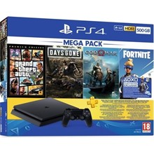 PS4 500 GB GTAV GOW DG BUNDLE