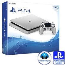 PS4 500GB Silver + DS4 Silver