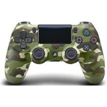 PS4 Dualshock Cont Green Cammo V2