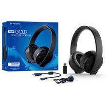 Ps4 Gold/Black Wireless Headset